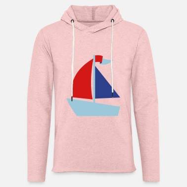 Sailing Boat boat - Unisex Lightweight Terry Hoodie