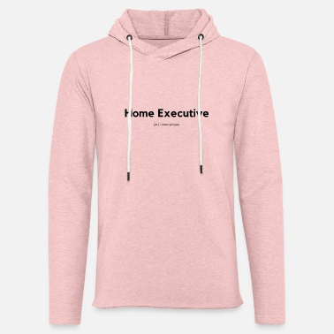 Home Executive Definition (Black) - Unisex Lightweight Terry Hoodie