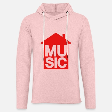 House House Music - House Music - Unisex Lightweight Terry Hoodie