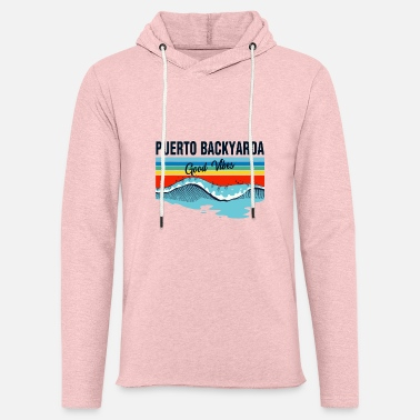 Puerto BackYarda Staycation Summer 2020 Quarantine - Unisex Lightweight Terry Hoodie
