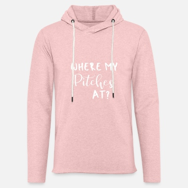 Bike Where My Pitches At 2 - Unisex Lightweight Terry Hoodie