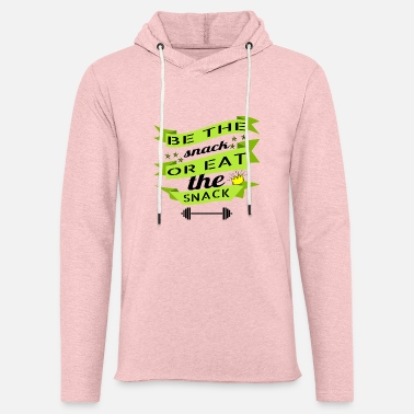 Snack be the snack or eat the snack - Unisex Lightweight Terry Hoodie