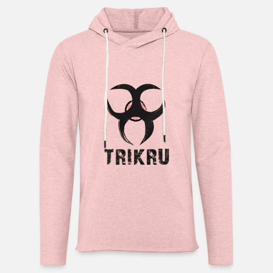 Octavia Hoodies & Sweatshirts - the 100 - Unisex Lightweight Terry Hoodie cream heather pink