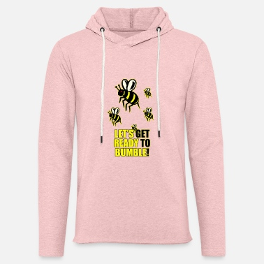 Ready to Bumble - Unisex Lightweight Terry Hoodie