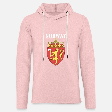 Coat Of Arms Norway coat of arms design - Unisex Lightweight Terry Hoodie
