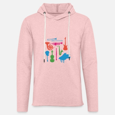 Musical Instruments Musical Instruments - Unisex Lightweight Terry Hoodie