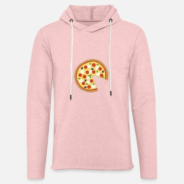 Pizza The Missing Pizza Napoletana -Matching Couple Love - Unisex Lightweight Terry Hoodie