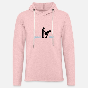 Amusing gay guys bottom - Unisex Lightweight Terry Hoodie