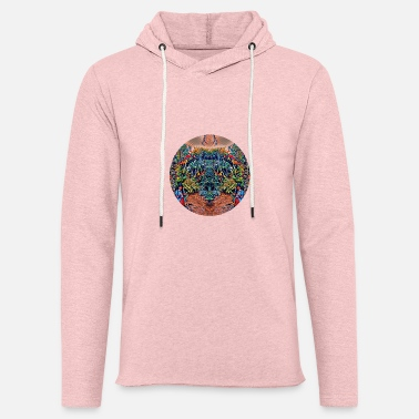 Reflecting Woman - Unisex Lightweight Terry Hoodie