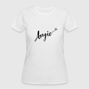 angie - Women's 50/50 T-Shirt
