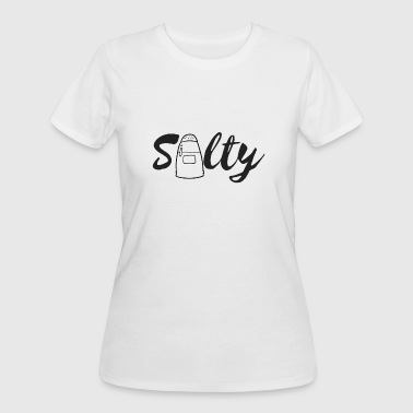 Salty. Salty - Women's 50/50 T-Shirt