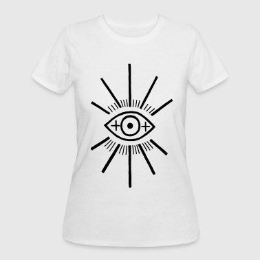 The big eye - Women's 50/50 T-Shirt