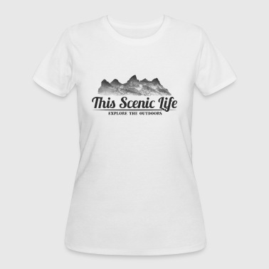 Grand Teton - Women's 50/50 T-Shirt