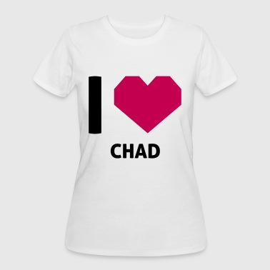Love Chad I Love Chad - Women's 50/50 T-Shirt