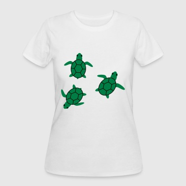 sea turtle - Women's 50/50 T-Shirt