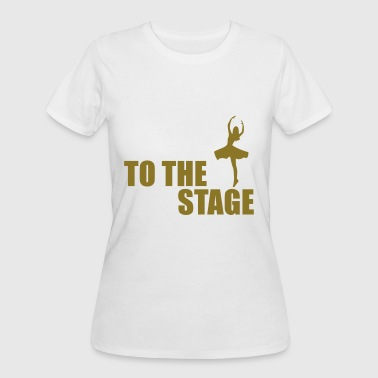 to the stage - Women's 50/50 T-Shirt