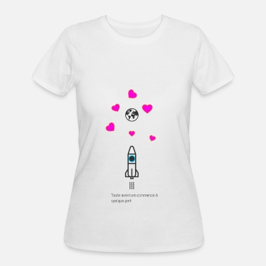 Franconian Adventure Space (French Version) - Women's 50/50 T-Shirt