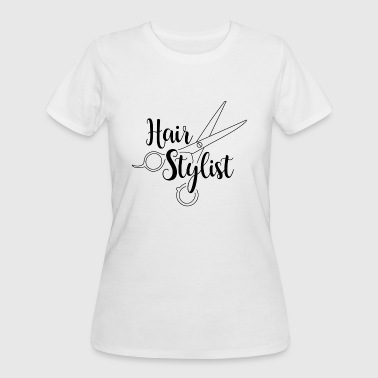 Hair Stylist Black - Women's 50/50 T-Shirt