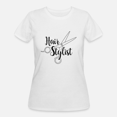 Hair Stylist Hair Stylist Black - Women's 50/50 T-Shirt