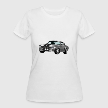 Ford Race Ford Mustang - Women's 50/50 T-Shirt
