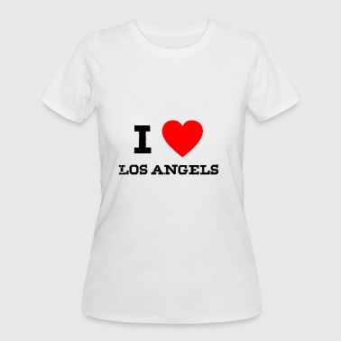 I Love Los Angeles i love los angels - Women's 50/50 T-Shirt
