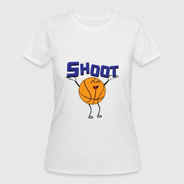 Shoot Basketball Basketball male Shoot - Women's 50/50 T-Shirt