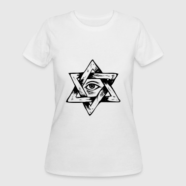 Esotericism all seeing eye boohoo gift esoteric spirit star - Women's 50/50 T-Shirt
