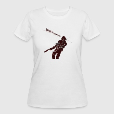 Headshot Gamer Boom headshot for gamers - Women's 50/50 T-Shirt