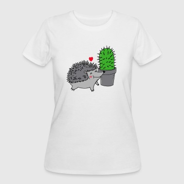 Prickly PRICKLY LOVE - Women's 50/50 T-Shirt