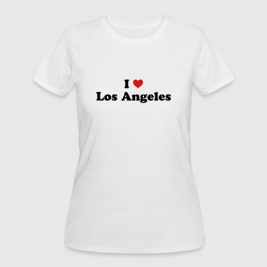 I Love Los Angeles I love Los Angeles - Women's 50/50 T-Shirt