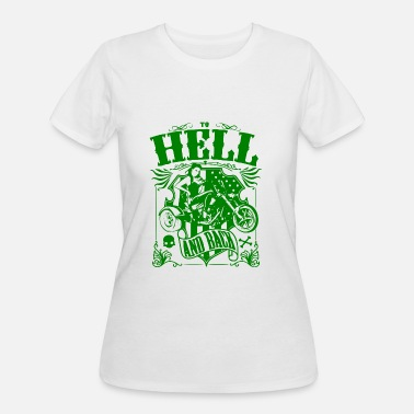 Back Hell GIFT - HELL AND BACK GREEN - Women's 50/50 T-Shirt
