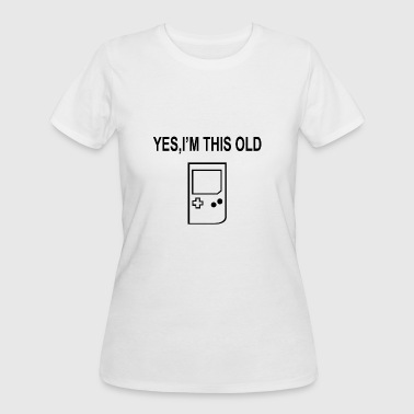 YES I M THIS OLD - Women's 50/50 T-Shirt
