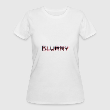 Blurry - Women's 50/50 T-Shirt