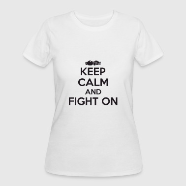 Tit Boxing Boxing - Boxing: keep calm and fight on - Women's 50/50 T-Shirt