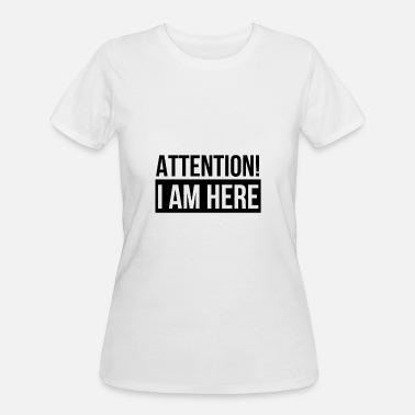 Attention Attention! - Women's 50/50 T-Shirt