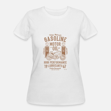 Shell Oil GASOLINE MOTOR OIL - Women's 50/50 T-Shirt