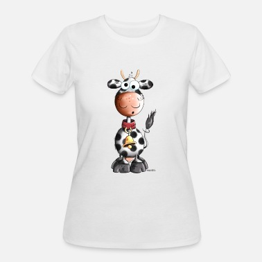 Cow Spots Spots Funny spotted cow - Cartoon - Gift - Fun - Comic - Women's 50/50 T-Shirt