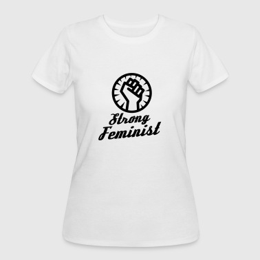 Strong feminist fist - Women's 50/50 T-Shirt