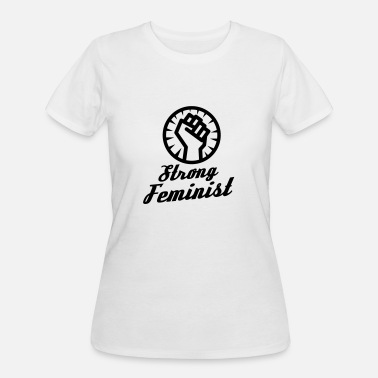Feminist Fist Strong feminist fist - Women's 50/50 T-Shirt