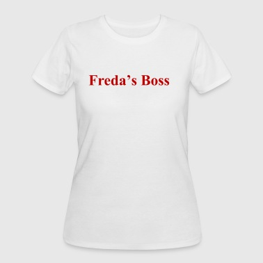 Red Boss freda's Boss (red) - Women's 50/50 T-Shirt