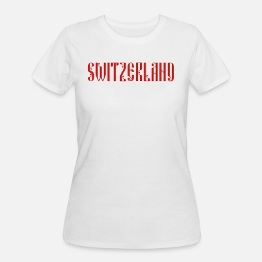 Switzerland SWITZERLAND 2018 - Women's 50/50 T-Shirt