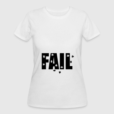 Playing Puzzles FAIL PUZZLE - Women's 50/50 T-Shirt
