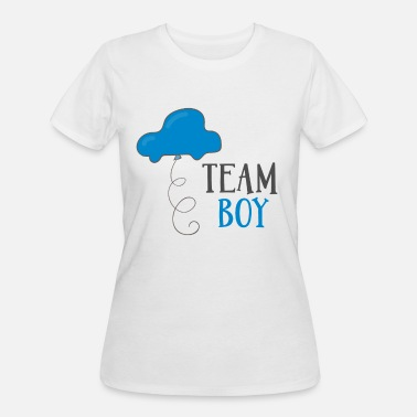 Baby Shower Team Boy - Women's 50/50 T-Shirt