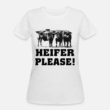 heifer please farm t shirts - Women's 50/50 T-Shirt