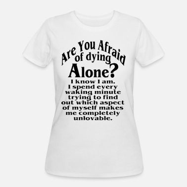 The Chemical Brothers are you afraid of dying alone brother t shirts - Women's 50/50 T-Shirt