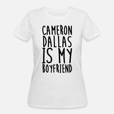 Cameron Cameron Dalla is My Boyfriend Top Vine Profession - Women's 50/50 T-Shirt