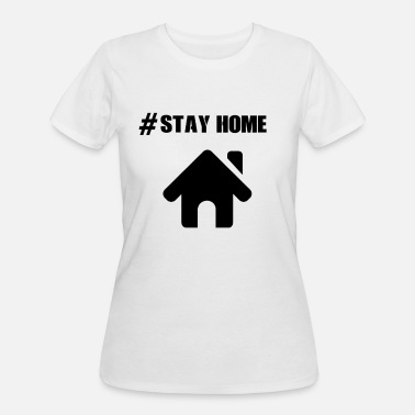 Stay Home, Corona, Corona Virus, Geschenkidee - Women's 50/50 T-Shirt
