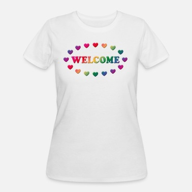 Welcome (Cordially Welcome) - Women's 50/50 T-Shirt