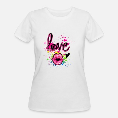 Girlish Girlish design - Women's 50/50 T-Shirt