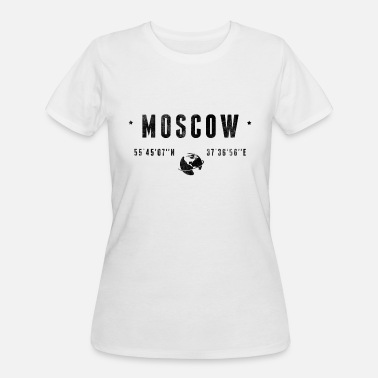 Moscow MOSCOW - Women's 50/50 T-Shirt